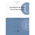 Fonaments de Física: Grau de matemàtica