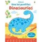 Uno los puntitos. Dinosaurios (con pegatinas)