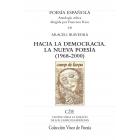 Hacia la democracia: la nueva poesía (1968-2000)