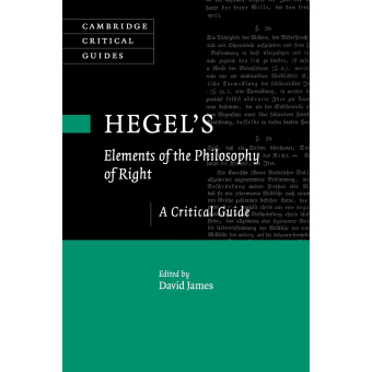 Hegel's 'Elements of the Philosophy of Right'