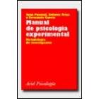 Manual de psicología experimental. Metodología de investigación