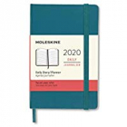 Moleskine* Agenda Semanal 12 meses Pocket (cartoné-verde)
