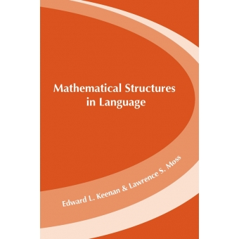 Mathematical structures in languages