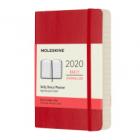 Moleskine* Agenda Diaria 12 meses Pocket (rústica-rojo)
