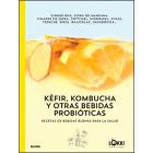 Kéfir, kombucha y otras bebidas probióticas. Recetas de bebidas buenas para la salud