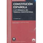 Constitución Española y Ley Orgánica del Tribunal Constitucional. Contiene concordancias, modificaciones resaltadas e índices analíticos