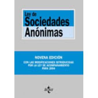 Ley de Socidades Anónimas
