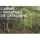 Camins i paisatges de Catalunya. Calendari 2017