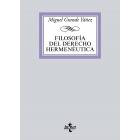 Filosofía del Derecho Hermenéutica