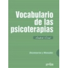 Vocabulario de las psicoterapias