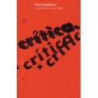 La función de la crítica.