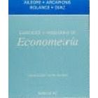 Ejercicios y problemas de econometría