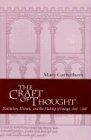 The Craft of thought : meditation, rethoric, and the making of images, 400-1200