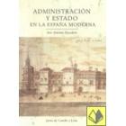 Administración y Estado en la España moderna