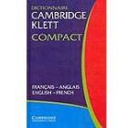 Dictionnaire Cambridge Klett Compact Français-Anglais, English-French
