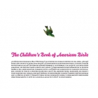 The Children's Book of American Birds. Revista nº1