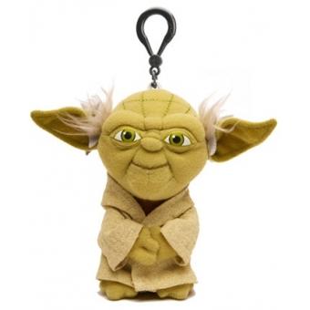Figura-Star Wars-Yoda peluche con sonido 10 cm