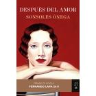 Después del amor (Premio de novela Fernando Lara 2017)