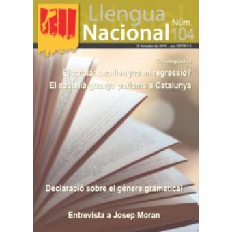 Llengua Nacional. Núm. 104 3r trimestre del 2018 - any XXVIII
