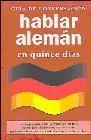 Guía de conversación: hablar alemán en quince días