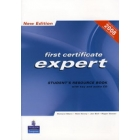 First certificate expert: Student's  Resource Book (2 CD's) 2008