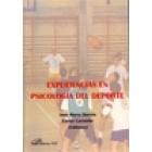 Experiencias en psicologia del deporte