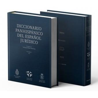 Diccionario Panhispánico del español Jurídico (RAE) 2 TOMOS