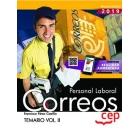 Personal Laboral. Correos. Temario Vol.II