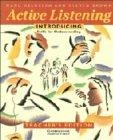 Active listening. Introducing. Teacher's edition