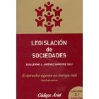 Legislación de Sociedades