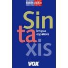 Sintaxis lengua española