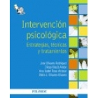 Intervención psicológica. Estrategias, tecnicas y tratamiento