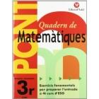 Pont Quadern de Matemàtiques. 3r d'ESO
