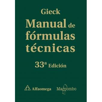 Manual de fórmulas técnicas
