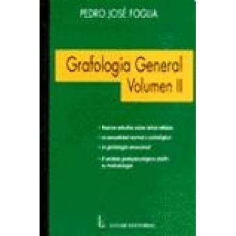 Grafología general, Vol. II