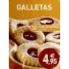 Caja de recetas Galletas