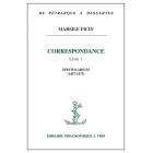 Correspondence, Livre 1: Epistolarium (1457-1475) Texte latin et traduction