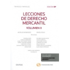 Lecciones de derecho mercantil Vol.II (DUO)