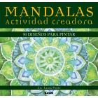 Mandalas - Actividad Creadora: 90 Diseños Para Pintar