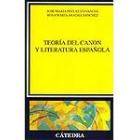 Teoría del canon y literatura española