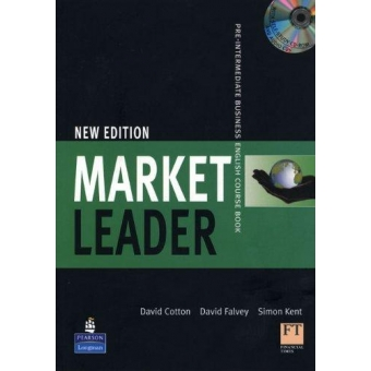 Market Leader Pre-Intermediate. Course Book with DVD-Rom and Vocab.Trainer