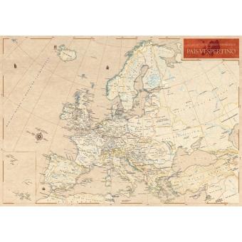 Europa: Atlas de los nombres verdaderos (40x56)
