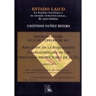 Estado laico. La Iglesia católica y el estado constitucional. El caso español