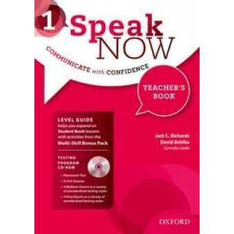 Speak Now: 1: Teacher's Book with Testing CD-ROM