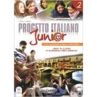 Progetto italiano junior 2. Libro di classe e quaderno degli esercizi + CD Audio