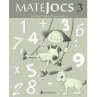Matejocs, matemàtiques, 1 Educació Primària. Quadern 3