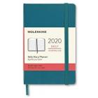 Moleskine* Agenda Diaria 12 meses Pocket (cartoné-verde)