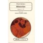 Historias. Libros I-IV. (Ed. de A. González Caballo)