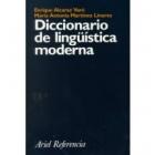 Diccionario de lingüística moderna
