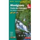 Montgrony-Fonts del Llobregat-Parc Natural Cadí-Moixeró 1/25.000